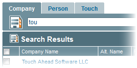 EquityTouch Search